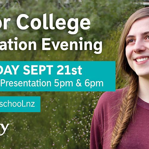 Senior College Information Evening