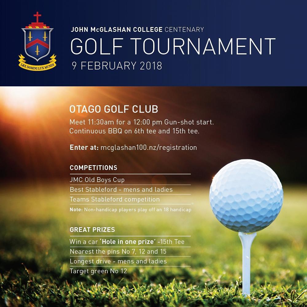 JMC Centenary Golf tournament.