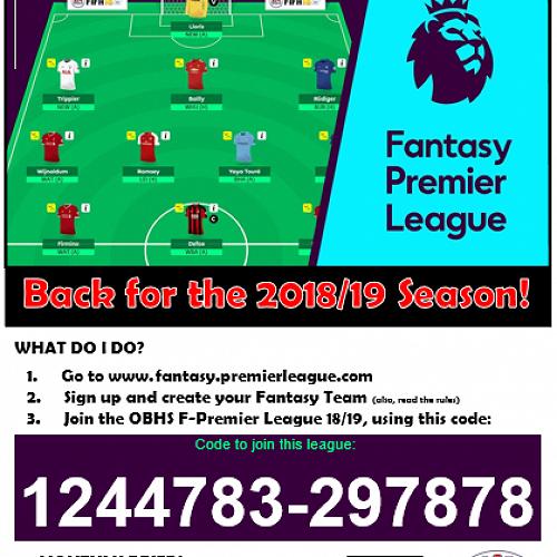 Fantasy Premier League Competition