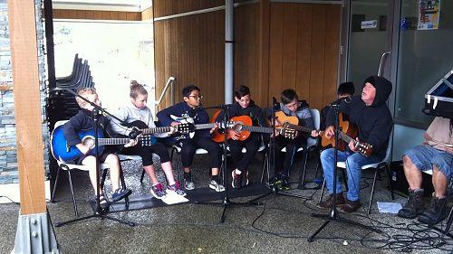 Amesbury School Guitar Combo