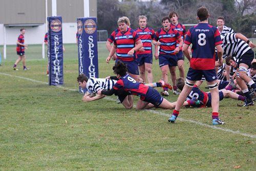 OBHS 2nd XV v South Otago High School 1st XV
