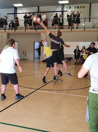 Staff vs Students Benchball 26/06/20