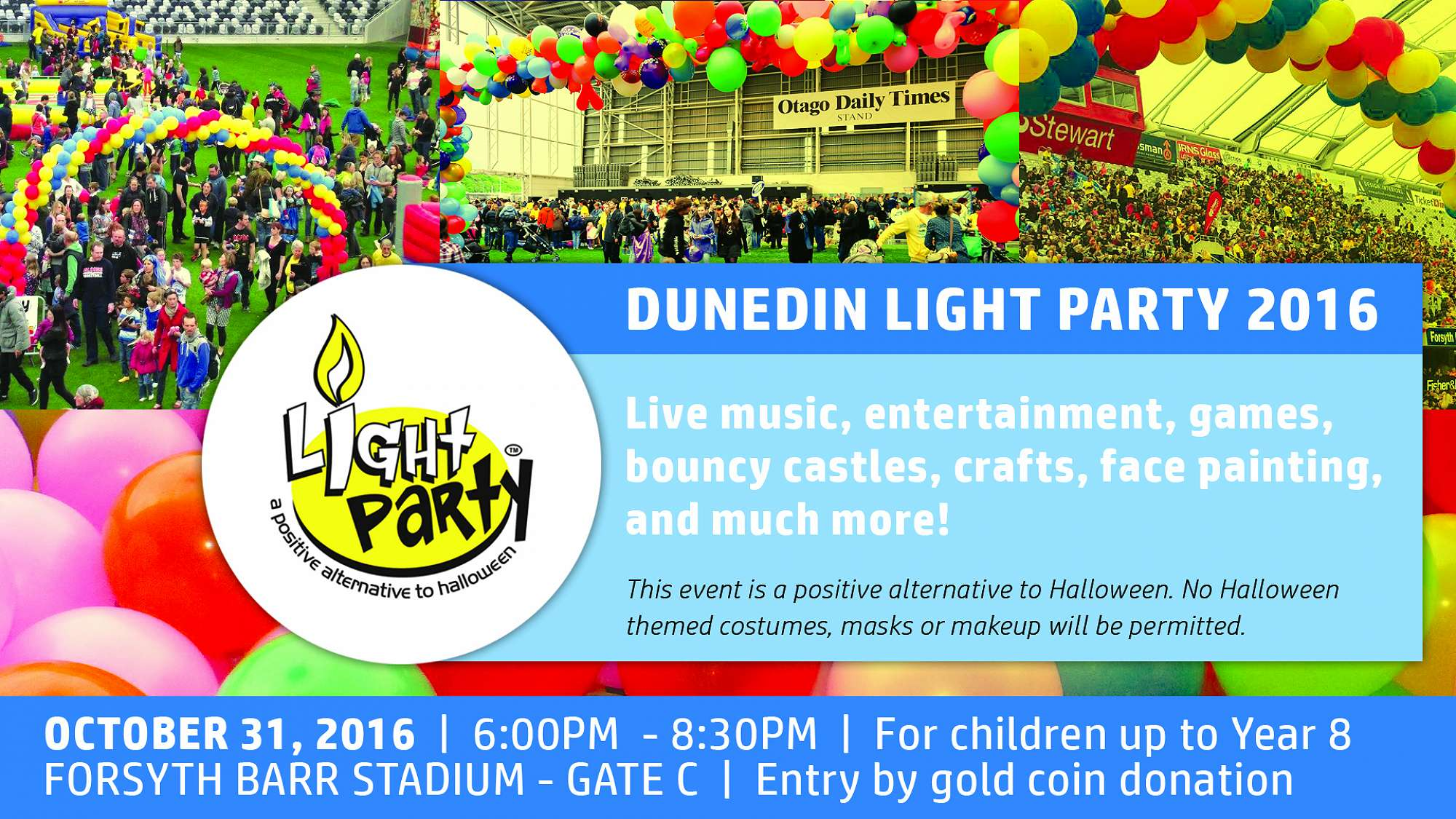 2016 Dunedin Light Party