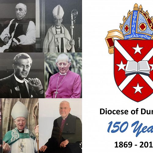 Diocese of Dunedin 150th - Bishop Montage