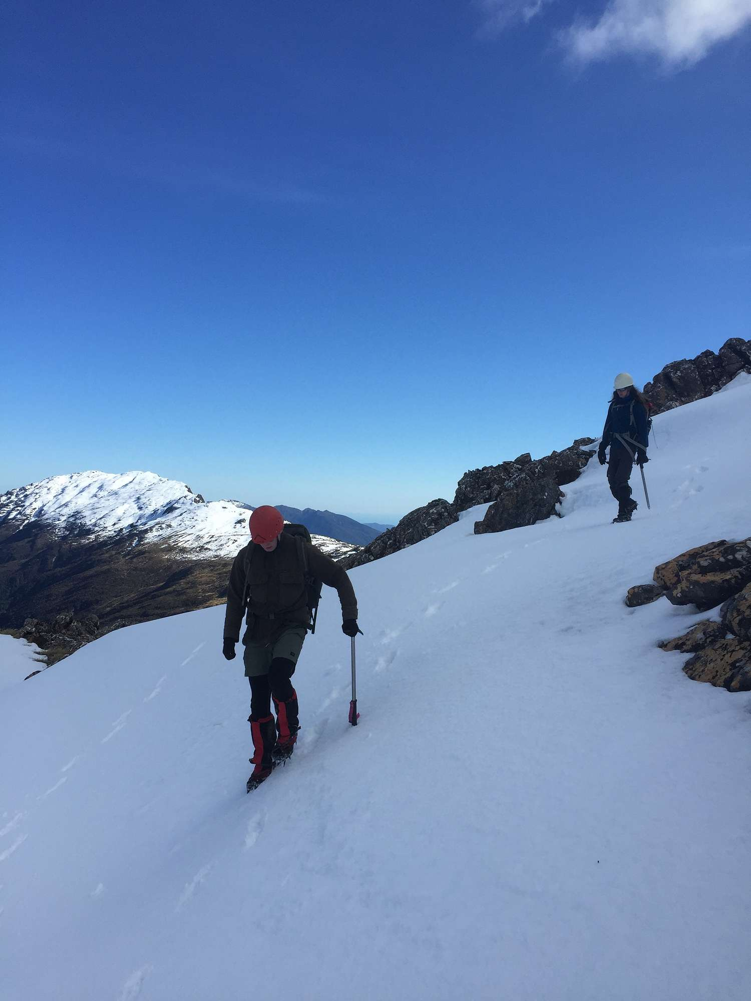 Level 3 mountain expedition. Kelly Range, Arthur's Pass National Park.