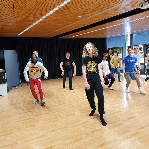 Dance workshop with Antonio Bukhar, Caroline Plummer Dance Fellow