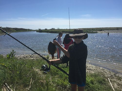 Monday's Fishing Activity