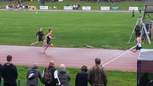 Hayden at the SISS Athletics