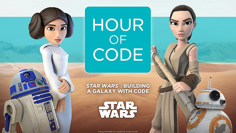 Star Wars' Partners With Code Org for Hour of Code Tutorial