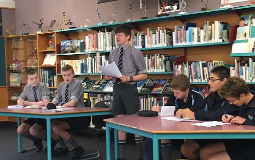 King's Interschool- Junior Debating