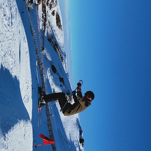 Big jumps at Cardrona