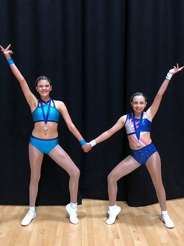 Year 9/10 Pre-choreographed group medalists