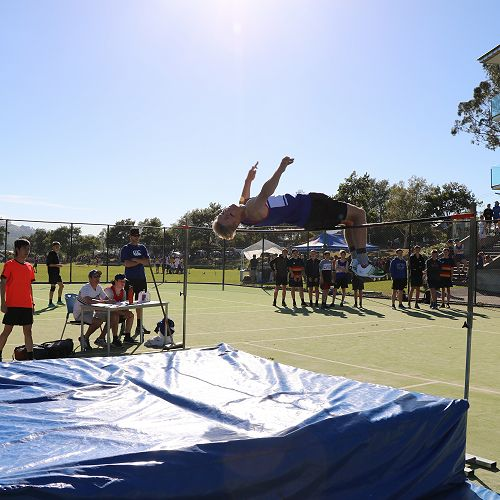Taylor Mechen: Just fails in his bid to set a new High Jump mark of 1.86m. Senior Field Cup winner. Junior High Jump and Senior Triple Jump Record Holder.