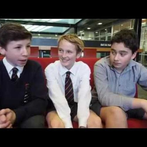 Daniel, Calvin and Archie reflect on the experiences of refugee children