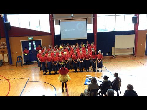 House choirs - Kowhai