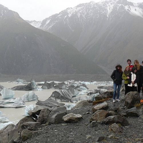 Mt Cook International student trip