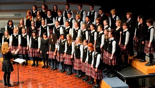 Logan Park High School Choir at the Big Sing