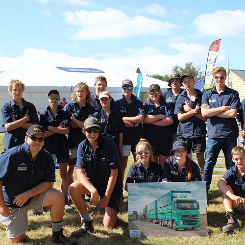 PIA students at the local A & P Show in Winchester
