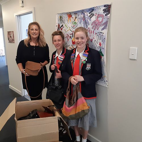 Y 12 Pay it Forward to Women's Refuge