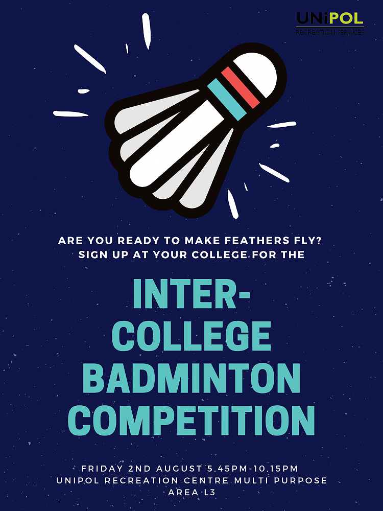 Inter-college Badminton Competition, 2/8/19