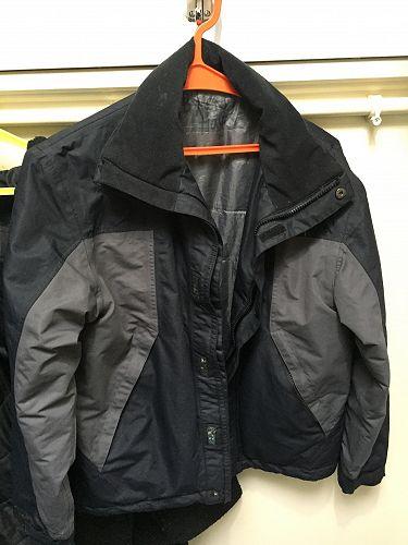 Black and grey jacket (named Byron Hayes)