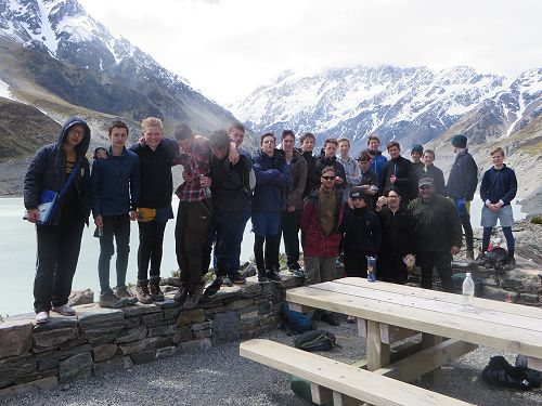 Year 10 camp - a challenge our international stude