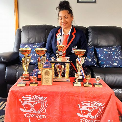 First Place in theNational FAGASA Samoan Speech Competition