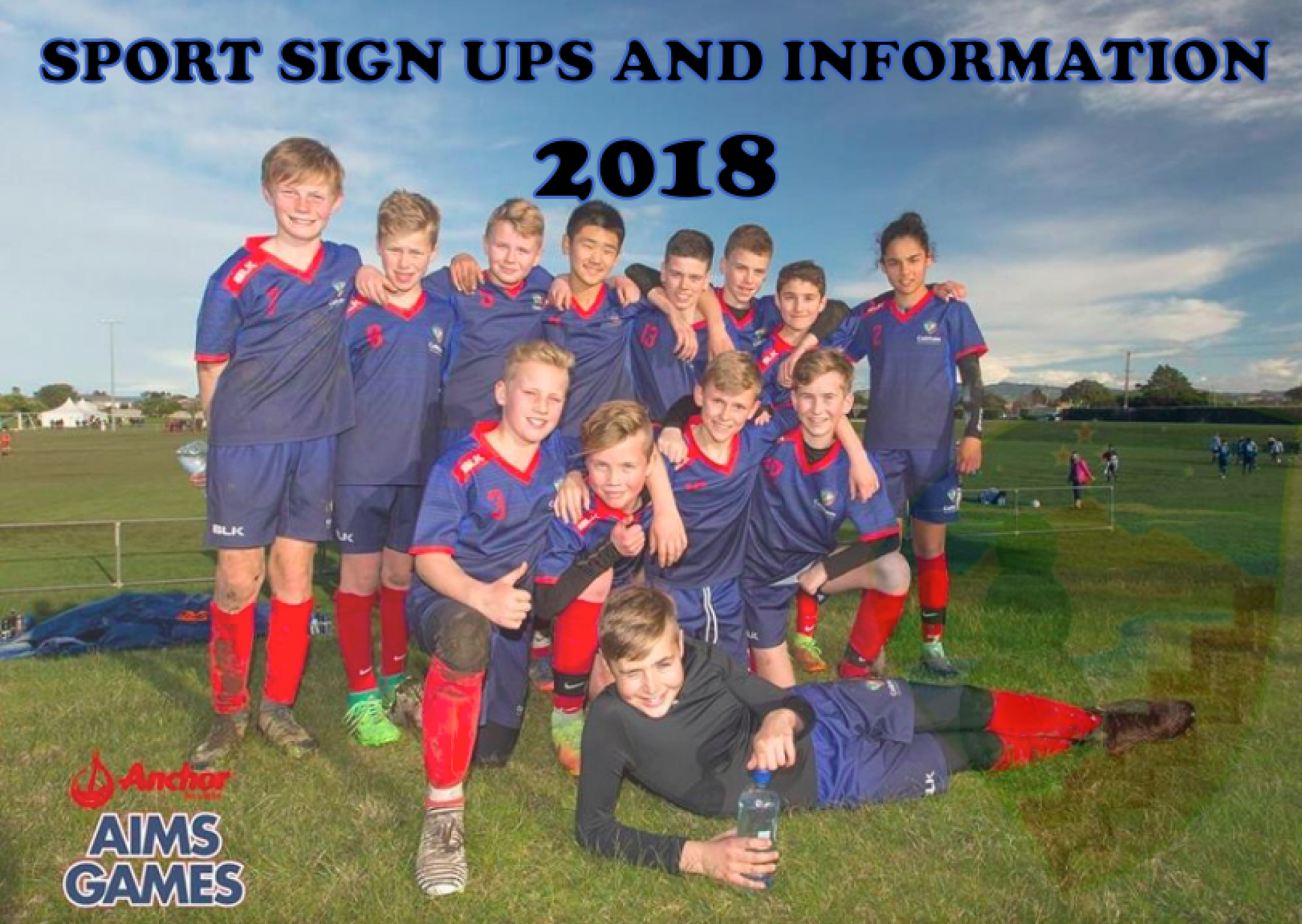 sport sign ups 2018 sports page