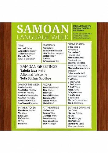 Samoan language week 27 may to 2 june 2018 samoan language week 2018 m4hsunfo