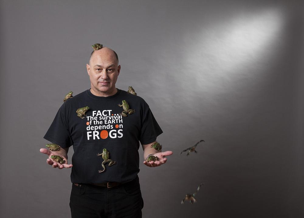 Frog specialist humbled by lifetime achievement award - Wild