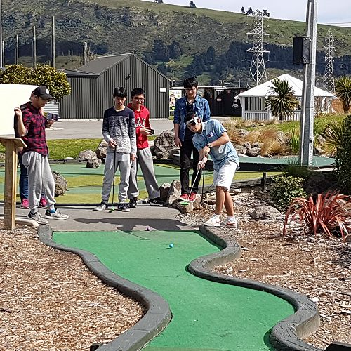 Mini Golf - International Outing