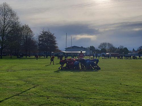 Year 9 & 10 Quad Rugby