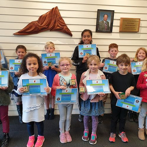 End of Term 2 Award Winners !