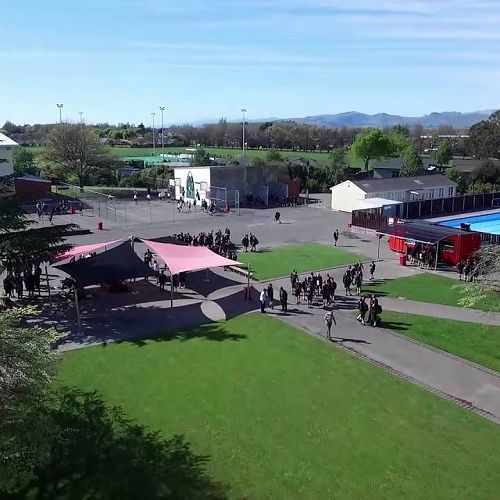 Video: St Bede's College| Christchurch | Aerial Flyover
