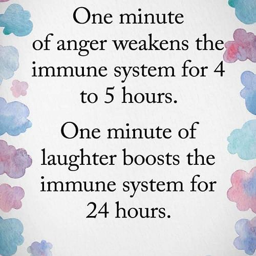 Wellbeing - laughter is healthy!