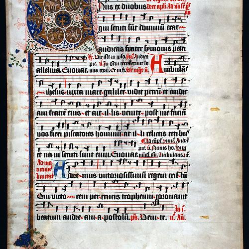 Early music score 5