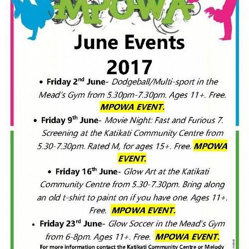 MPowa | June Events