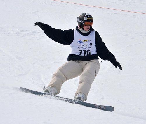 Linsey Tompsett | Snowboarding