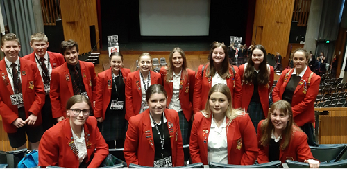 Year 12 students attend Emerging Leaders Conference at Christ's College