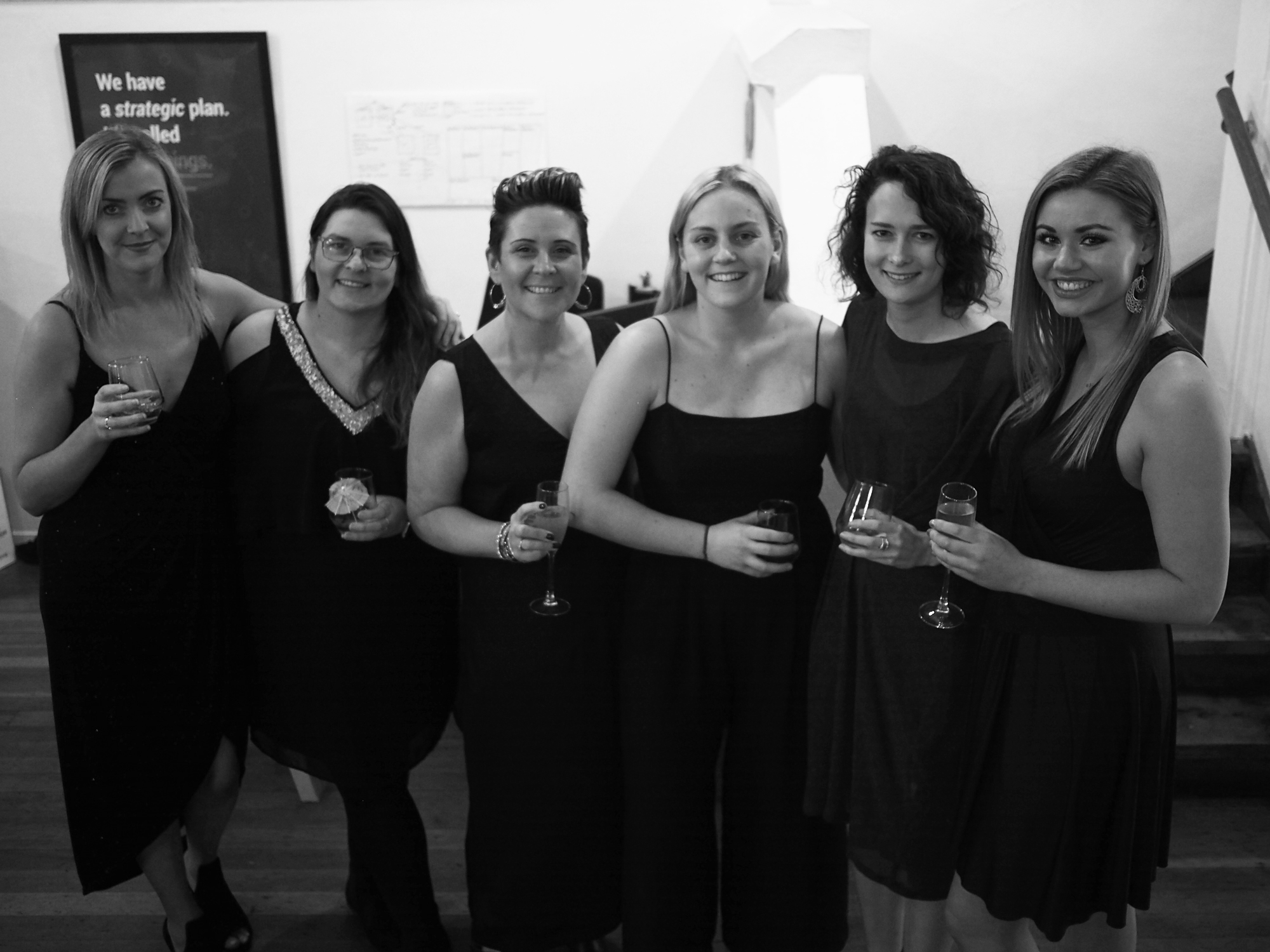 Cocktail Night - Some of the Firebrand ladies