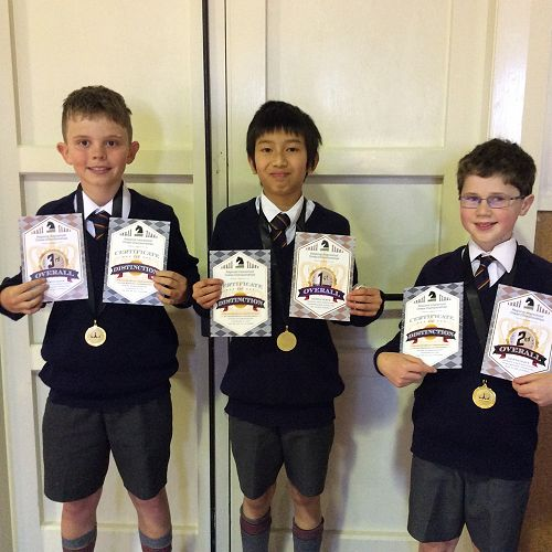 The McGlashan Knights Chess Team