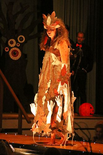Phaedra Cunningham-Lucas models her 'Haunted' entry