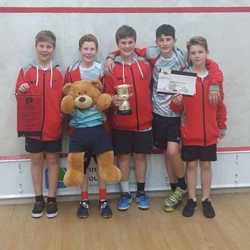 Men's E Grade Squash Team