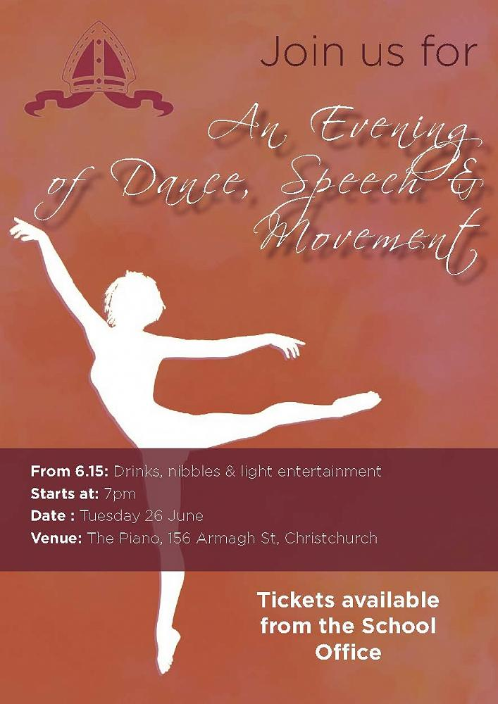 an evening of dance speech movement by mrs sarah lowe