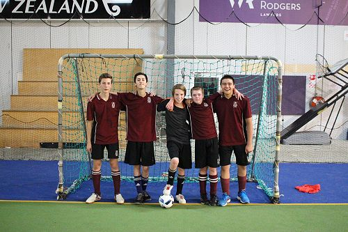 LPHS Red Boys Futsal Team
