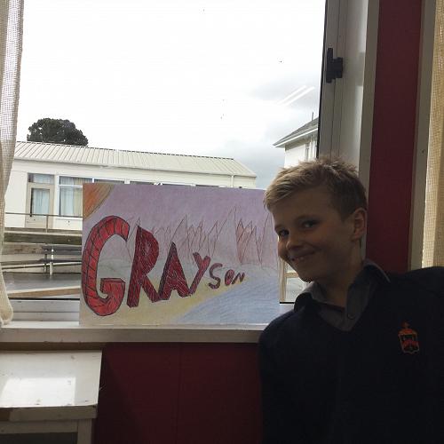 Grayson Westgate Yr 7