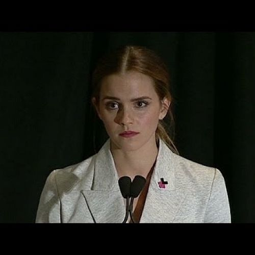 Video: Emma Watson to United Nations: I'm a feminist