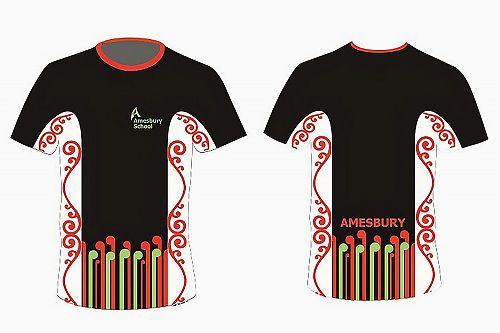 Amesbury School Sports Shirt
