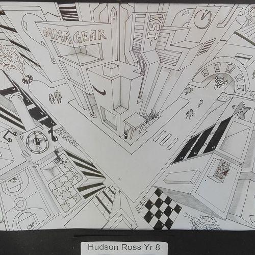 Hudson Ross Yr 8