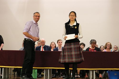 Junior Prize Giving
